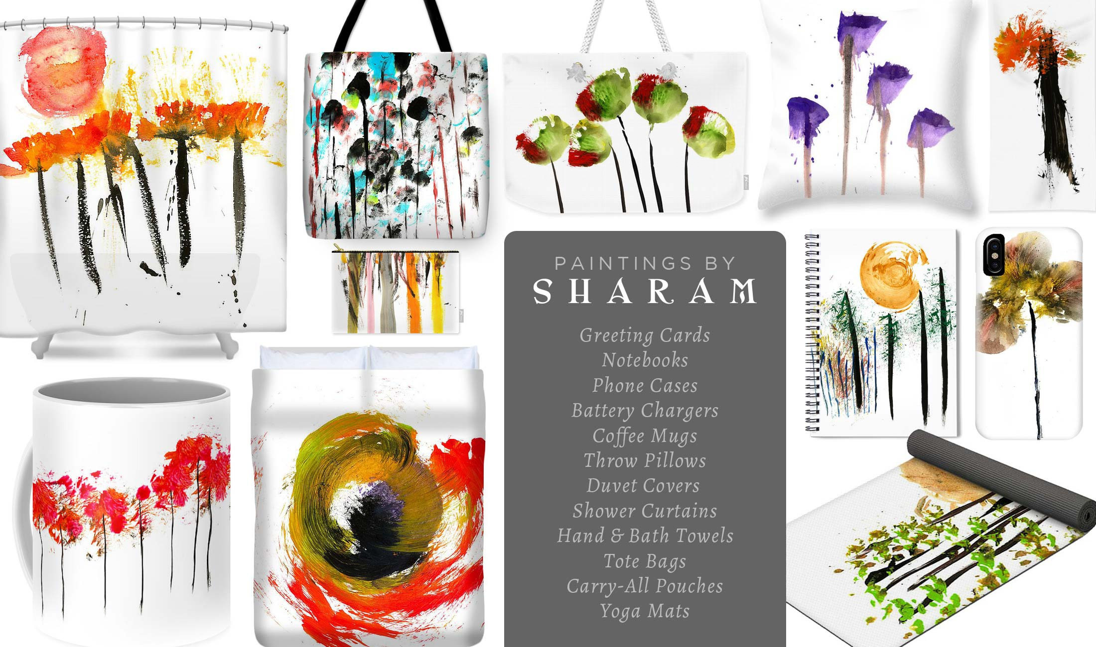 Sharam Paintings - Accessories