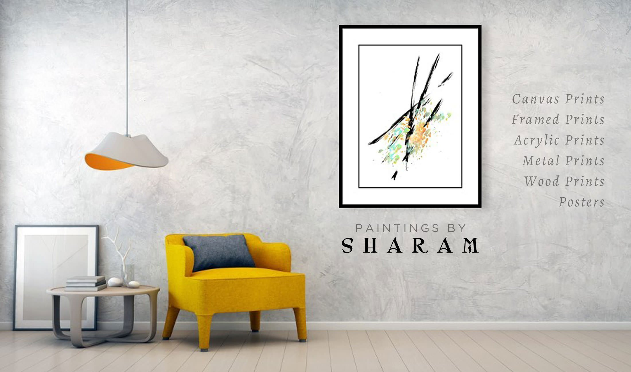 Sharam Paintings - Art Prints